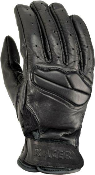 Racer Field Gloves - Black