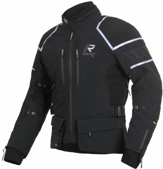 Rukka Kallavesi GTX Textile Jacket - Black/Silver