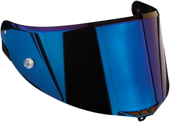 AGV Visor - Race 3 - Pista GP RR/Pista GP R/Corsa R - Iridium Blue
