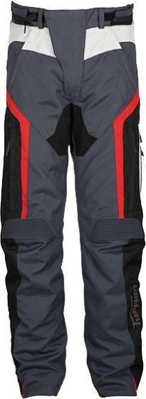 Furygan Apalaches Textile Trousers - Black/Grey/Red