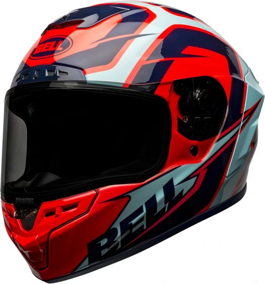 Bell Star MIPS - Labyrinth Blue/Red
