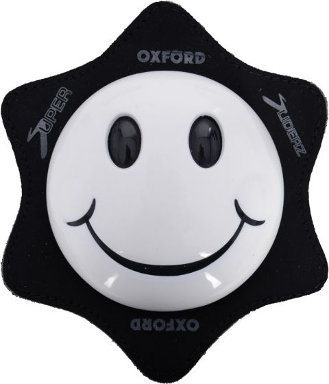 Oxford Smiler Knee Sliders - White