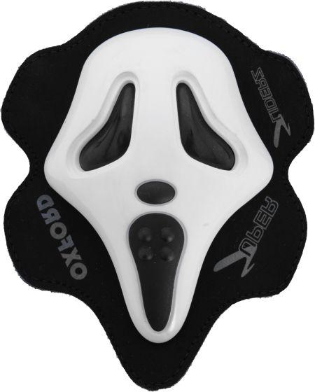 Oxford Knee Sliders - Screamer White