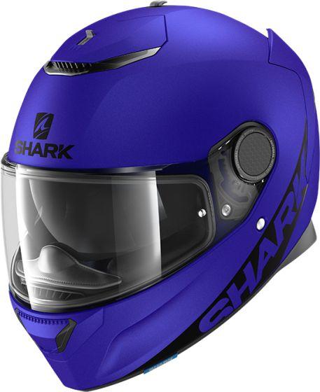 Shark Spartan 1.2 - Blank Mat Blue B02