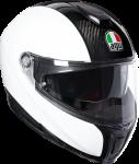 AGV Sport Modular - Plain - Carbon/White