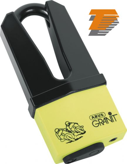 Abus Granit Quick 37/60 Disc Lock 70/11mm - Yellow