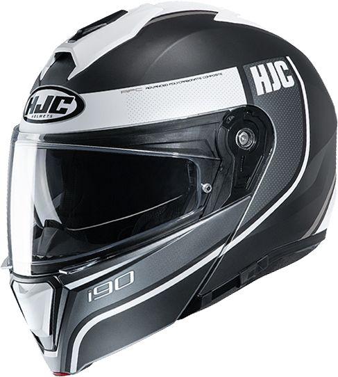HJC I90 - Davan White