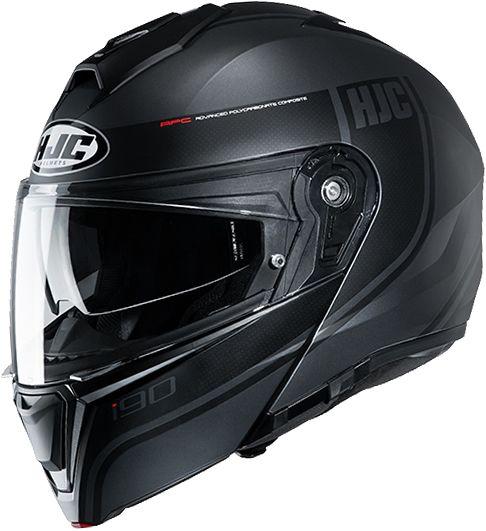 HJC I90 - Davan Black