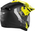 Nolan N70-2 X - Decurio Flat Black/Yellow 030
