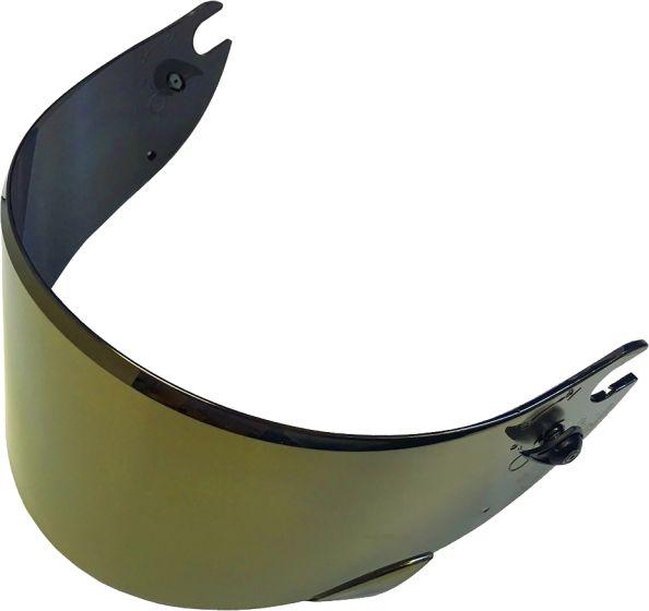 Shark Visor - VZ100 - Gold Iridium