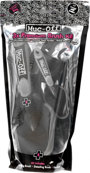 Muc-Off - Brush Set (3 Pack)