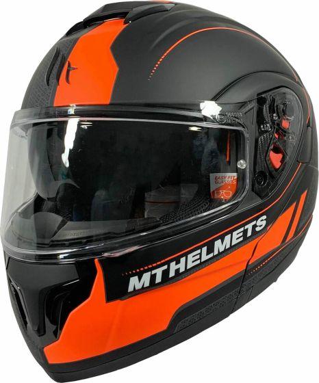 MT Atom SV - Raceline Evo Matt Black/Orange