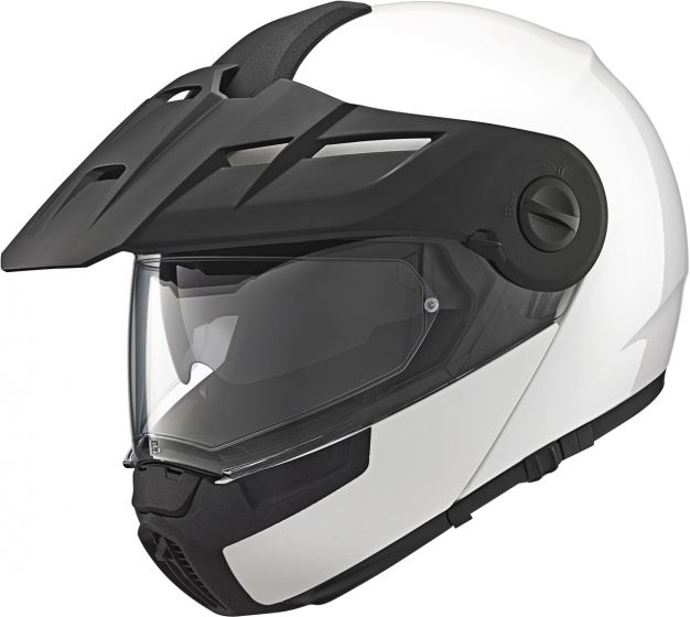 Schuberth E1 - Gloss White + FREE Dark Visor