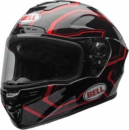Bell Star - Pace Black/Red - SALE