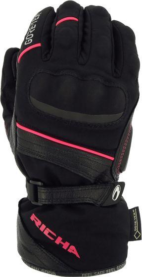 Richa Diana Ladies GTX Gloves - Black/Pink