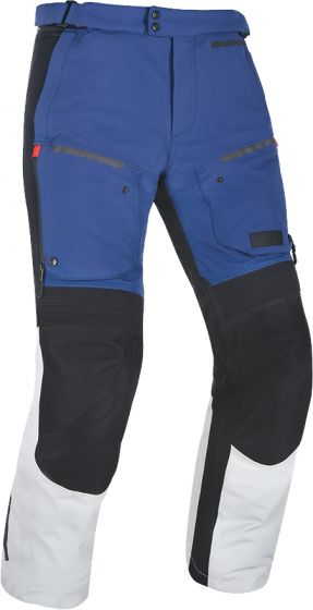 Oxford Mondial Advanced Textile Trousers - Grey/Blue/Red