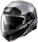 Nolan N100-5 Plus - Distinctive Flat Silver 030
