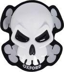Oxford Knee Sliders - Skull White
