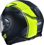 HJC F70 - Mago Fluo Yellow