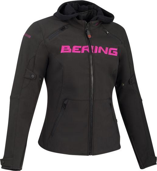 Bering Drift Ladies Textile Jacket - Black/Pink