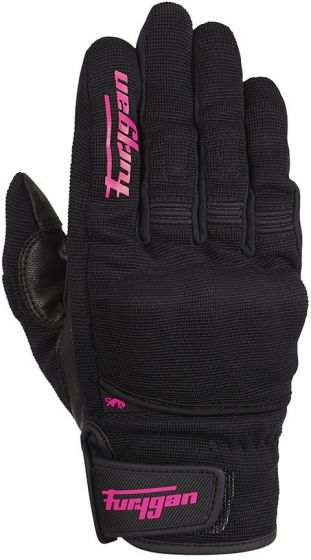 Furygan Jet D3O Ladies Gloves - Black/Pink