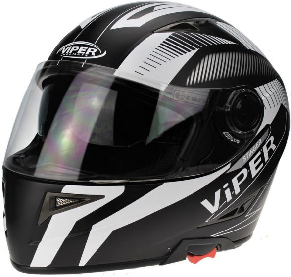 Viper RSV75 - Stinger Matt Black/White