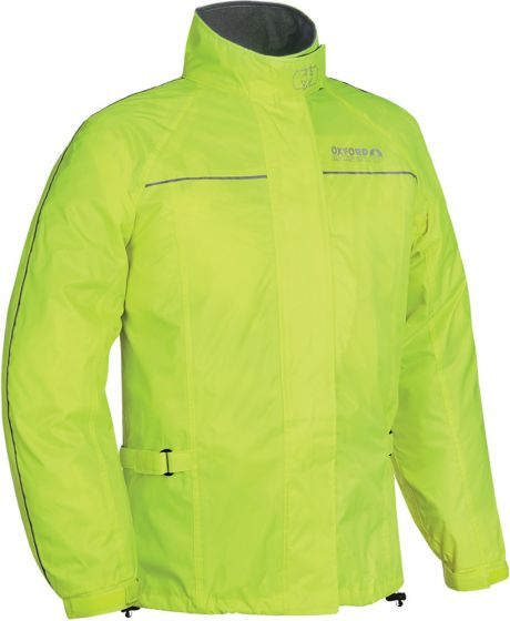 Oxford Rainseal Over Jacket - Fluo Yellow
