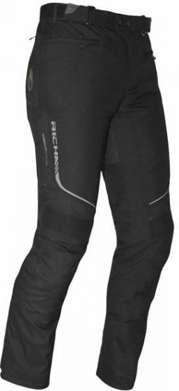 Richa Colorado Ladies Textile Trousers - Black