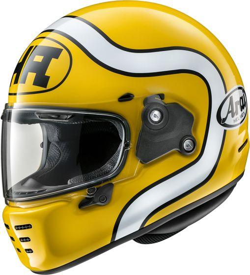Arai Rapide - Ha Yellow