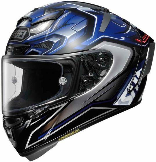 Shoei X-Spirit 3 - Aerodyne TC2 Blue