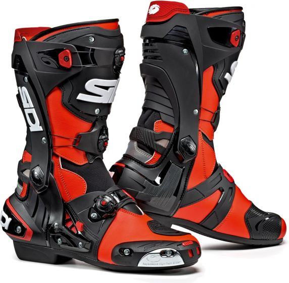 Sidi Rex Boots - Red/Black