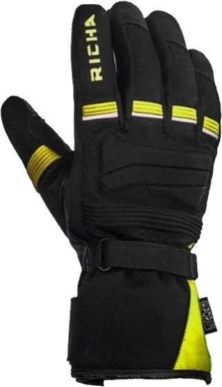 Richa Peak WP Gloves - Black/Fluo