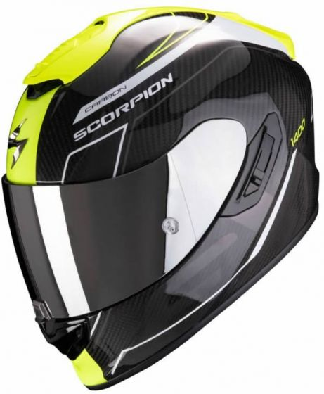 Scorpion EXO-1400 AIR Carbon - Beaux Yellow