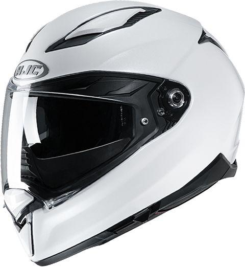 HJC F70 - Gloss White