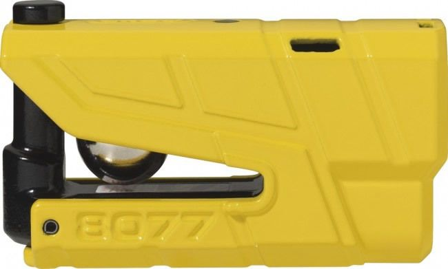 Abus Granit Detecto X-Plus 8077 Disc Lock - Yellow