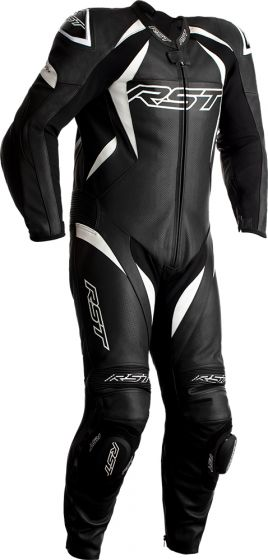 RST Tractech Evo 4 One-Piece Suit - Black/White