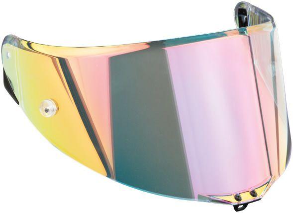AGV Visor - Race 3 - Pista GP RR/Pista GP R/Corsa R - Iridium Rainbow