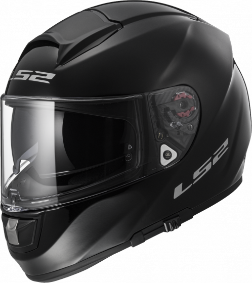 LS2 Vector HPFC Evo FF397 - Solid - Gloss Black