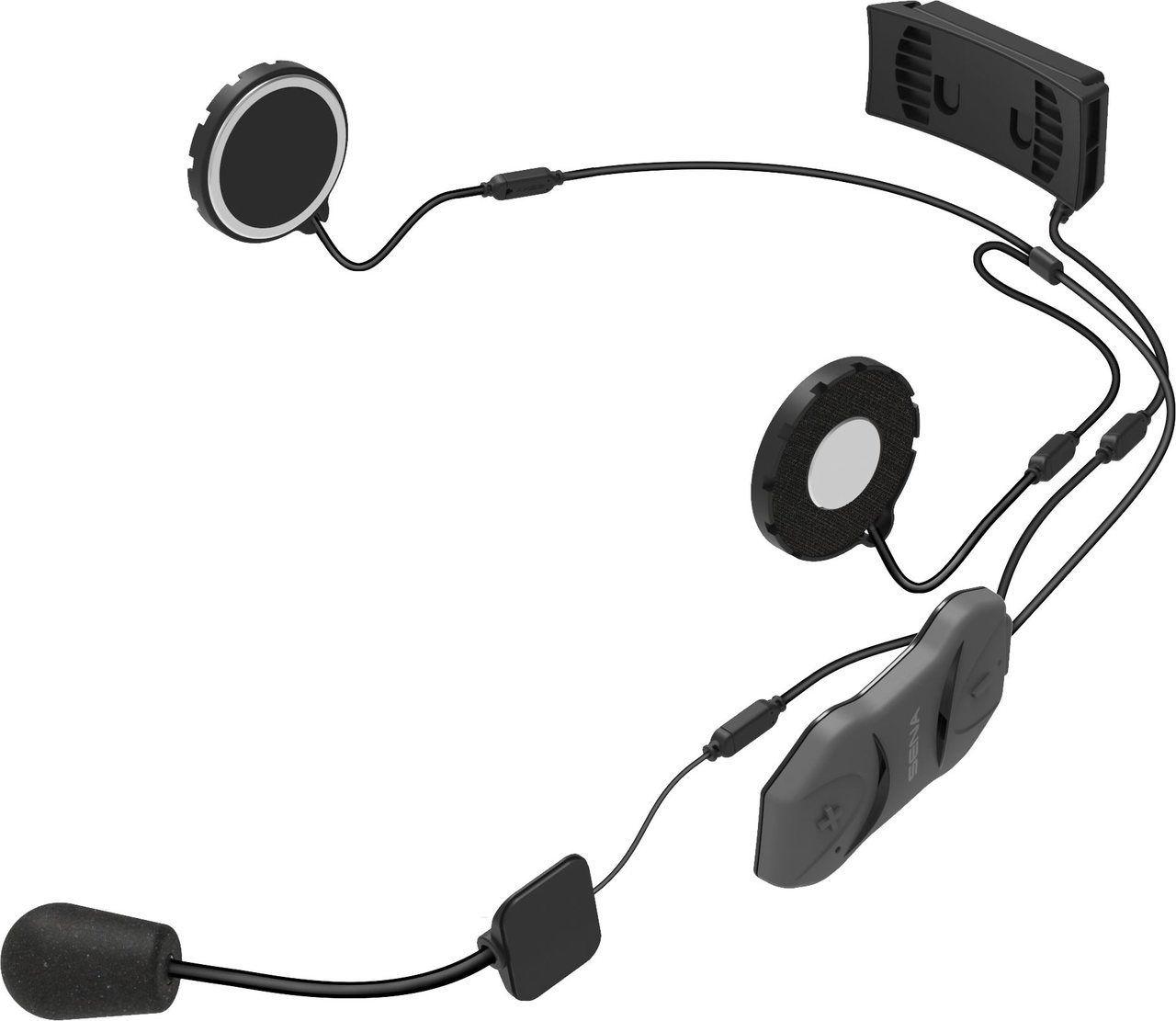 Sena 10r Bluetooth Headset Amp Intercom Dual Set With Free