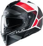 HJC I90 - Hollen Red
