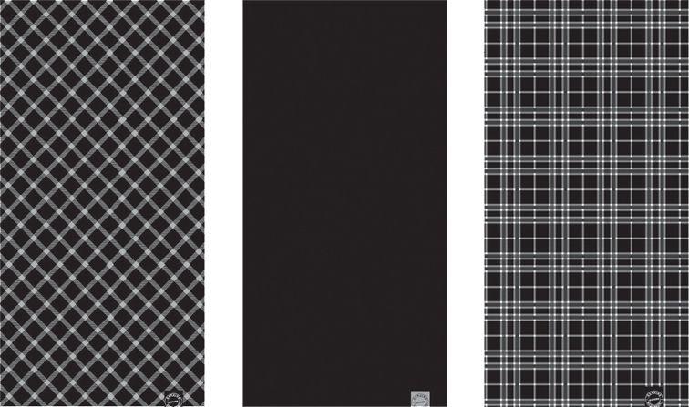 Oxford Comfy - Black/White/Tartan - NW108