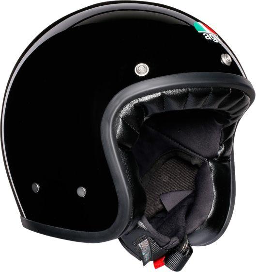 AGV X70 - Plain - Gloss Black