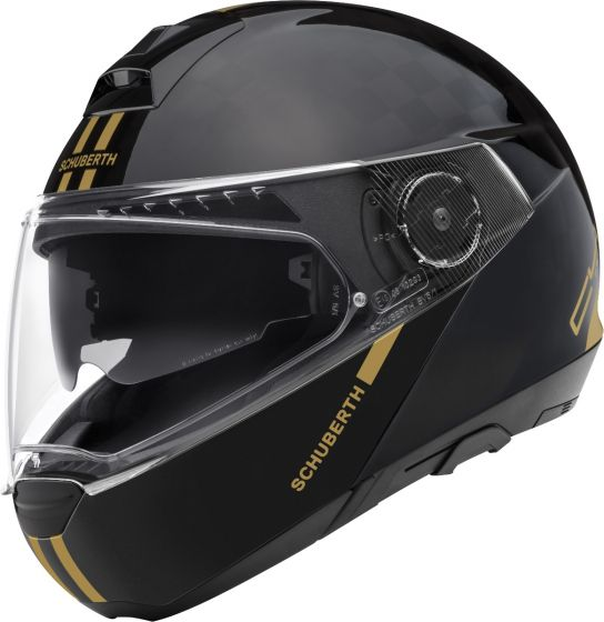 Schuberth C4 Pro Carbon - Fusion Gold Ltd Edition - SALE