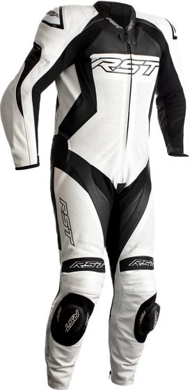 RST Tractech Evo 4 One-Piece Suit - White/Black