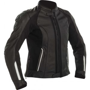 Richa Lausanne Ladies Leather Jacket - Black