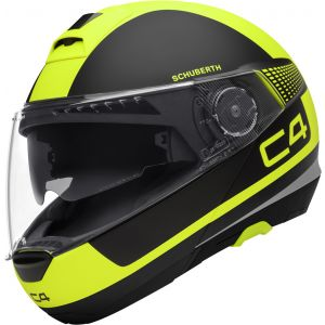 Schuberth C4 - Legacy Yellow - Save £290!