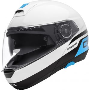 Schuberth C4 - Pulse White - Save £290!
