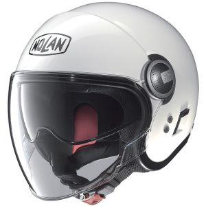 Nolan N21 Visor - Classic Metal White - 005