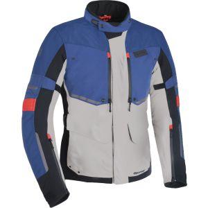 Oxford Mondial Advanced Textile Jacket - Grey/Blue/Red