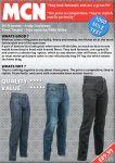 Richa Hammer Jeans - Black